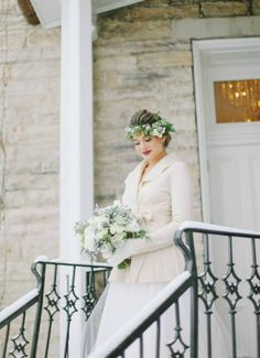 Love this look for a winter wedding | Jacque Lynn Photography