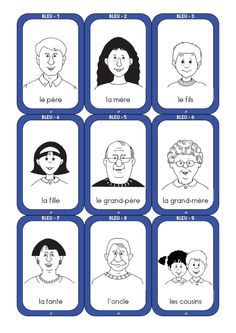 jeu de 7 familles a imprimer - Google Search