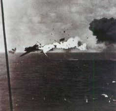 Shot Down Fighter WWII, 1943