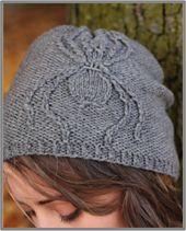 Ravelry: Arachnophobia Hat pattern by Emily Williams