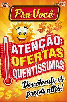 """Cover of """"Catálogo Pra Você Campanha Janeiro e Fevereiro de 2018."""""""