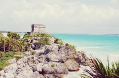 the mayan ruins of tulum...