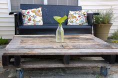 Möbel aus Holz Paletten - 46 einzigartige Tipps für Sie  - #Möbel
