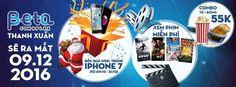 """< 3p dành cho quảng cáo> Từ ngày 09/12 – 31/12… """"Xem phim hay nhận ngay iPhone 7"""" Nghe thì có vẻ không liên quan cho lắm :)) Nhưng đó lại là một chương trình hoàn toàn có thật 100% cho Beta Cineplex tổ chức nhân dịp rạp chiếu giá RẺ nhất HN khai trương.. Mới chỉ là ngày thứ 3 trong tuần lễ ..."""