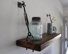 Set of 2 Turnbuckle Shelf Brackets for Floating by SilicateStudio