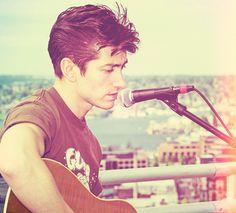 Alex Turner, of the Arctic Monkeys.
