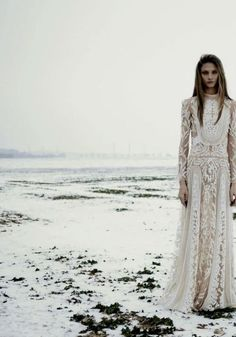 A game of Clothes // What a Stark bride would wear with furs