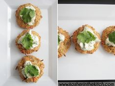 CRUNCHY CRAB CAKES WITH CILANTRO LIME DIPPING SAUCE: {FAKE CRAB} - made 1.4.15. Fantastic when you are really craving tasty seafood. I subbed jalapenos for celery because I like it spicy!