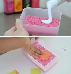 Piccoli trucchi per tenere pulito quando giocano i bambini