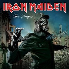 iron maiden artwork | IRON MAIDEN - 'The Sniper' Cover Artwork; The Final Frontier Artwork ...