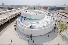 Pavilhão dinarquês na Expo Xangai 2010 (Foto: Iwan Baan ) - BIG !