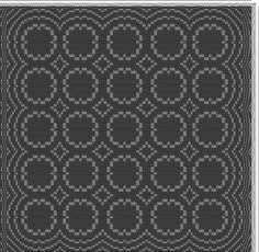 Gerd Lindman Nilsson | small circles | overshot | Sweden | 2008 | 4-shaft, 6-treadle