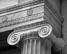 Greek pillar