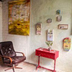 superbunte hausgeister Bunt, Painting, Atelier, Ghosts, Rustic, Painting Art, Paintings, Painted Canvas, Drawings