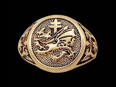 Vlad draculas order of the dragon pendant gladrags wizard 14k gold vlad draculas order of the dragon signet ring davinci emporium aloadofball Gallery