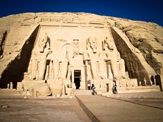 Abu Simbel. Photo By Polina Rotterdam