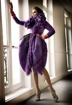 John Galliano for Christian Dior Fall Winter 2010/11 Haute Couture