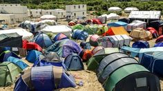 Calais blockade Protest to target migrant Jungle camp - BBC News