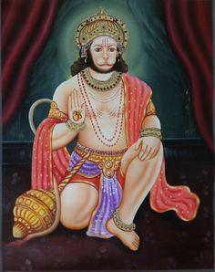 Hanuman Art Handmade