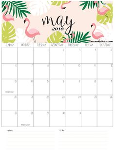 April 2018 Calendar | Calendar | Pinterest