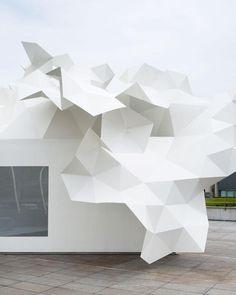 Bloomberg Pavillion Project by Akihisa Hirata #istallazioni #design #architettura #giappone #akihisahirata