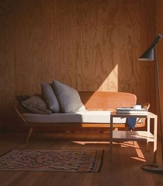 Orwell sofa by Goula. A cabin-like experience cross between a bed ...