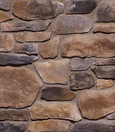 Sienna Tuscan Ridge - Stone Veneer - Interior Stone - Exterior Stone - By Dutch Quality - Home Decoration - Interior Design Ideas Exterior Brick Veneer, House Paint Exterior, Exterior House Colors, Stone Exterior, Wall Exterior, Ranch Exterior, Exterior Signage, Faux Stone Panels, Faux Panels