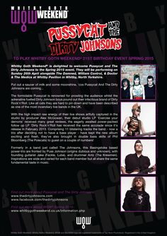 Pussycat And The Dirty Johnsons - WGW 2015 Spring