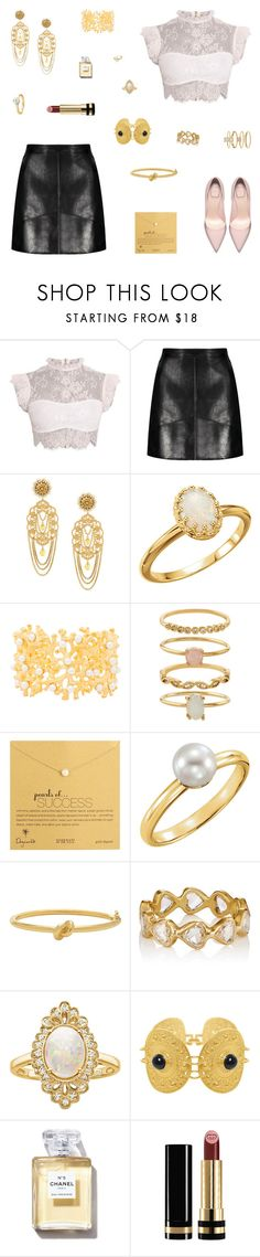"""""""Liberty"""" by belenloperfido ❤ liked on Polyvore featuring Dolce&Gabbana, Kenneth Jay Lane, Accessorize, Dogeared, Kate Spade, MUNNU The Gem Palace, Effy Jewelry and Gucci"""