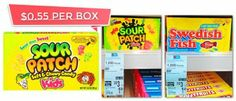 Sour Patch and Swedish Fish, Only $0.55 at Walgreens!