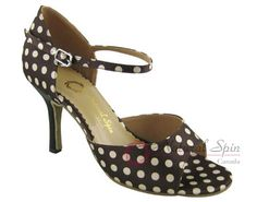 Natural Spin Tango Ladies Shoes: Salsa Shoes/Tango Shoes/Fashion Shoes(Open Toe)