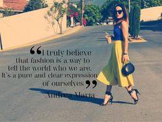 Fashion Quote Andrea María- Dear Milano