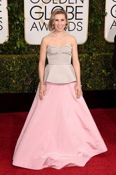 Pin for Later: Seht alle Stars auf dem roten Teppich bei den Golden Globes! Zosia Mamet