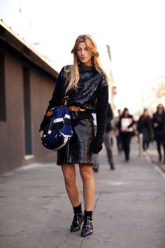 Milan Fashion Week - Street Style Fall 2012
