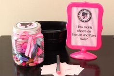 Barbie party game - guess how many shoes Barbie and Ken have?