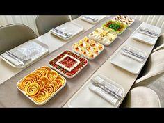 Her Evde Bulunan Malzemeler ile Şık Kahvaltılık Sunumlar | Kahvaltılık Tarifler | Pazar Kahvaltısı - YouTube Appetizer Recipes, Appetizers, Food Presentation, Waffles, Breakfast Recipes, Cheese, Cooking, Desserts, Kitchen Ideas