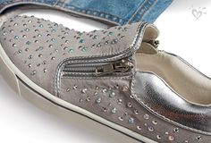 Sparkle, shine and slip-on style <3