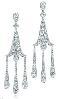 It's so unfortunate that these earrings cost more than me Tiffany & Co Earrings inspired by The Great Gatsby.
