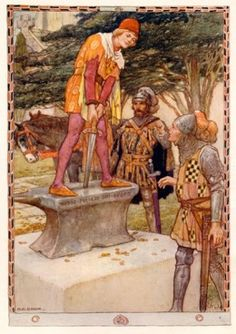 """The Evolution of King Arthur"" by Carolyn Emerick (Art by Walter Crane, 1911)"