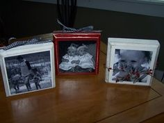 Photo Blocks-super cute for gifts for grandparents with grandkids pictures in it....
