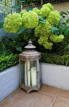 Small Romantic Urban Garden, Clapham, London on Behance Small Courtyard Gardens, Small Courtyards, Small Gardens, Courtyard Ideas, Modern Gardens, Backyard Ideas For Small Yards, Patio Ideas, Zen Garden Design, Interior Garden
