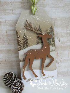 Stamping with Loll: Twelve Tags of Christmas - Day Eleven Christmas Cards To Make, Noel Christmas, Christmas Gift Tags, Christmas Wrapping, Christmas Projects, Handmade Christmas, Christmas Ornaments, Christmas Tables, Nordic Christmas