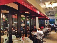 Restaurante Carpaccio no Shopping Bal Harbour