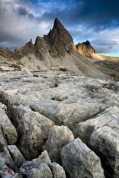 Monte Paterno - Dolomiti di Sesto Italy Stonescape by Matteo Zanvettor