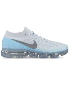 1e65c54b0442a Nike Women s Air VaporMax Flyknit Running Sneakers from Finish Line - Black  7.5 Running Sneakers