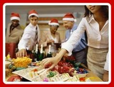 Hosting an office Christmas party? Here are ideas for themes, decorations, activities and more.