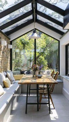 Home Room Design, Dream Home Design, Modern House Design, My Dream Home, Home Interior Design, Modern Cabin Interior, Glass House Design, Modern Lake House, Industrial Home Design