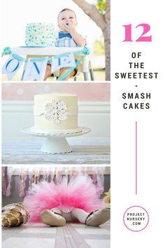 Smash Cake Ideas - 1