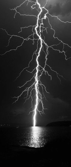 Lightning strikes...