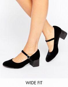 Womens Wide Foot Sparkle Open-Toe Heels New Look UQEdHWU